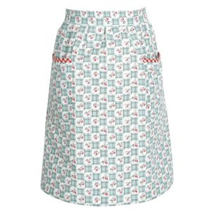 Tablier Jupe Betty Dark Mint GreenGate - Disponible au magasin L'Îlot Lamp' à Granville et sur notre site L'Îlot Lamp'. Retrouvez toute la collection GreenGate ici !