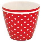 Mug Spot Red GreenGate - Disponible au magasin L'Îlot Lamp' à Granville et sur notre site L'Îlot Lamp'. Retrouvez toute la collection GreenGate ici !