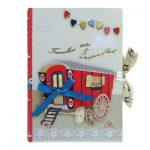 Carnet de Note Roulotte Disaster - Disponible au magasin L'Îlot Lamp' à Granville et sur notre site L'Îlot Lamp'.