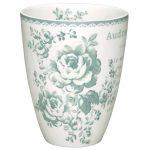 Mug Audrey Mint GreenGate - Disponible au magasin L'Îlot Lamp' à Granville et sur notre site L'Îlot Lamp'. Retrouvez toute la collection GreenGate ici !
