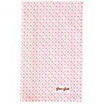 Torchon Mimi Pale Pink GreenGate - Disponible au magasin L'Îlot Lamp' à Granville et sur notre site L'Îlot Lamp'. Retrouvez toute la collection GreenGate ici !