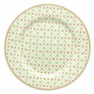 Assiette D20,5 Mimi Green GreenGate - Disponible au magasin L'Îlot Lamp' à Granville et sur notre site L'Îlot Lamp'. Retrouvez toute la collection GreenGate ici !
