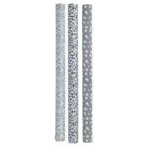 3 Rouleaux de Papier Glitter Warm Grey GreenGate - Disponible au magasin L'Îlot Lamp' à Granville et sur notre site L'Îlot Lamp'. Retrouvez toute la collection GreenGate ici !