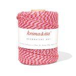 Bobine Ficelle Coton Lollipop Rose Krima & Isa - Disponible au magasin L'Îlot Lamp' à Granville et sur notre site L'Îlot Lamp'. Retrouvez toute la collection Krima & Isa ici !