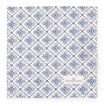Serviette de Table Oona Blue GreenGate - Disponible au magasin L'Îlot Lamp' à Granville et sur notre site L'Îlot Lamp'. Retrouvez la collection GreenGate !