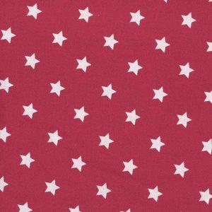 Tissu Star Red A.U Maison -Disponible au magasin L'Îlot Lamp' à Granville et sur notre site. Retrouvez toute la collection A.U Maison !