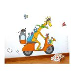 Sticker C'est Parti ! - Série Golo - Disponible au magasin L'Îlot Lamp' à Granville et sur notre site. Retrouvez toute la collection Série Golo !