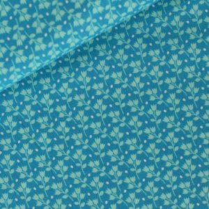 Tissu Kitchen Garden Bleu - Disponible à la boutique L'Îlot Lamp' à Granville et sur notre site L'Îlot Lamp'. Retrouvez toute notre gamme de Tissus ici !
