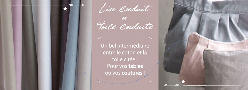 Lin Enduit et Coton Enduit L'Îlot Lamp' Créations Granville