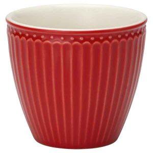 Mug Alice Red Greengate - Disponible au magasin L'Îlot Lamp' à Granville et sur notre site L'Îlot Lamp'. Retrouvez la collection GreenGate !