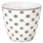 Mug Laurie White Greengate - Disponible au magasin L'Îlot Lamp' à Granville et sur notre site L'Îlot Lamp'. Retrouvez la collection GreenGate !