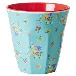 Mug Mélamine Two Tone Mini Flower Rice - Disponible au magasin L'Îlot Lamp' à Granville et sur notre site L'Îlot Lamp'. Retrouvez la collection Rice !
