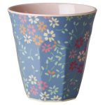 Mug Mélamine Two Tone Wild Flower Rice - Disponible au magasin L'Îlot Lamp' à Granville et sur notre site L'Îlot Lamp'. Retrouvez la collection Rice !