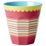 Mug Stripes Rice - Disponible au magasin L'Îlot Lamp' à Granville et sur notre site L'Îlot Lamp'. Retrouvez la collection Rice !