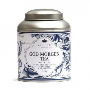 Thé God Morgen Bio Tafelgut - Disponible au magasin L'Îlot Lamp' à Granville et sur notre site L'Îlot Lamp'. Retrouvez la collection TAFELGUT ici !
