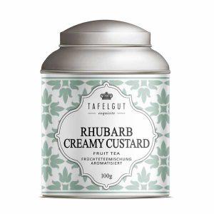 Rhubarb Creamy Custard - Fruit Tea / Infusion Tafelgut - Disponible au magasin L'Îlot Lamp' à Granville et sur notre site. Retrouvez la collection TAFELGUT!