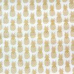 Tissu Ananas - Disponible au magasin L'Îlot Lamp' à Granville et sur notre site L'Îlot Lamp'. Retrouvez la collection de tissus ici!