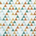 Tissu Forest Triangles - Disponible au magasin L'Îlot Lamp' à Granville et sur notre site L'Îlot Lamp'. Retrouvez la collection de tissus ici!