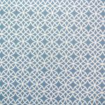 Tissu Haron Blue - Disponible au magasin L'Îlot Lamp' à Granville et sur notre site L'Îlot Lamp'. Retrouvez la collection de tissus ici!