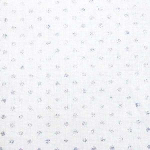 Tissu Dots Silver - Disponible au magasin L'Îlot Lamp' à Granville et sur notre site L'Îlot Lamp'. Retrouvez la collection de tissus ici!