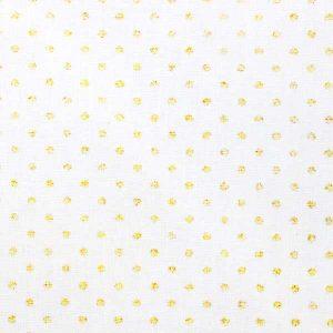Tissu Dots Gold - Disponible au magasin L'Îlot Lamp' à Granville et sur notre site L'Îlot Lamp'. Retrouvez la collection de tissus ici!