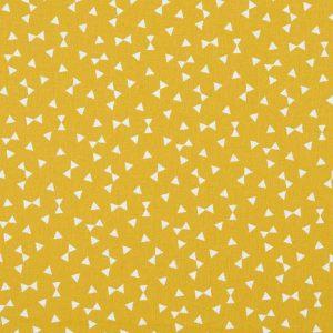 Tissu Bow Tie Yellow - Disponible au magasin L'Îlot Lamp' à Granville et sur notre site L'Îlot Lamp'. Retrouvez la collection de tissus ici!