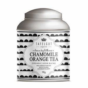 Chamomile Orange Tea - Rooibos Tea Bio - Tafelgut - Disponible au magasin L'Îlot Lamp' à Granville et sur notre site. Retrouvez la collection TAFELGUT!