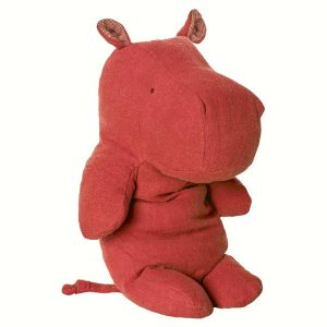 Safari Hippo Medium Red - Maileg - Disponible au magasin L'Îlot Lamp' à Granville et sur notre site. Retrouvez la collection MAILEG !