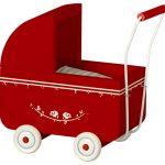 Landau Pram Micro Red - Maileg - Disponible au magasin L'Îlot Lamp' à Granville et sur notre site. Retrouvez la collection MAILEG !
