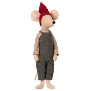 Christmas Mouse Maxi Boy - Maileg - Disponible au magasin L'Îlot Lamp' à Granville et sur notre site. Retrouvez la collection MAILEG !