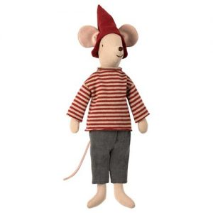 Christmas Mouse Medium Boy - Maileg - Disponible au magasin L'Îlot Lamp' à Granville et sur notre site. Retrouvez la collection MAILEG !