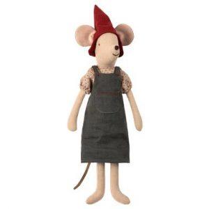 Christmas Mouse Medium Girl - Maileg - Disponible au magasin L'Îlot Lamp' à Granville et sur notre site. Retrouvez la collection MAILEG !