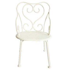 Chaise Romantic Vintage Chair Mini White - Maileg - Disponible au magasin L'Îlot Lamp' à Granville et sur notre site. Retrouvez la collection MAILEG !