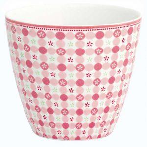 Mug Mimi Pink GreenGate - Disponible au magasin L'Îlot Lamp' à Granville et sur notre site L'Îlot Lamp'. Retrouvez toute la collection GreenGate ici !