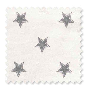 Tissu Coton Star Pale Grey GreenGate - Disponible au magasin L'Îlot Lamp' à Granville et sur notre site L'Îlot Lamp'. Retrouvez toute la collection GreenGate ici !
