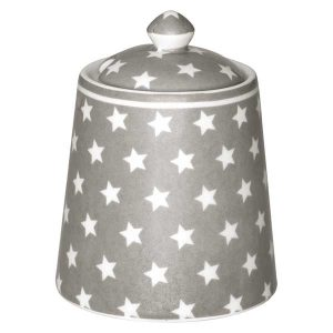 Sucrier Star Warm Grey GreenGate - Disponible au magasin L'Îlot Lamp' à Granville et sur notre site L'Îlot Lamp'. Retrouvez toute la collection GreenGate ici !