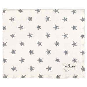 Nappe Star Pale Grey GreenGate - Disponible au magasin L'Îlot Lamp' à Granville et sur notre site L'Îlot Lamp'. Retrouvez toute la collection GreenGate ici !