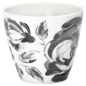 Mug Amanda Dark Grey Greengate - Disponible au magasin L'Îlot Lamp' à Granville et sur notre site L'Îlot Lamp'. Retrouvez la collection GreenGate !