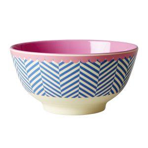 Bol Sailor Stripe Print Rice - Disponible au magasin L'Îlot Lamp' à Granville et sur notre site L'Îlot Lamp'. Retrouvez la collection Rice !