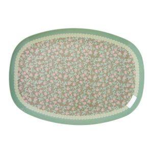 Assiette Mini Floral Print Rice - Disponible au magasin L'Îlot Lamp' à Granville et sur notre site L'Îlot Lamp'. Retrouvez la collection Rice !