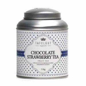 Thé Chocolate Strawberry Bio Tafelgut - Disponible au magasin L'Îlot Lamp' à Granville et sur notre site L'Îlot Lamp'. Retrouvez la collection TAFELGUT ici !
