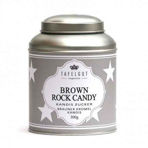 Brown Rock Candy - Gros cristaux de sucre brun