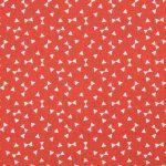 Tissu Bow Tie Corail - Disponible au magasin L'Îlot Lamp' à Granville et sur notre site L'Îlot Lamp'. Retrouvez la collection de tissus ici!