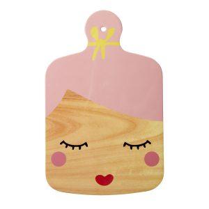 Planche à Découper Melamine Sweet Face Rice - Disponible au magasin L'Îlot Lamp' à Granville et sur notre site L'Îlot Lamp'.Retrouvez la collection Rice