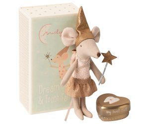 Tooth Fairy Big Sister Mouse - Maileg