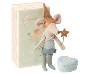Tooth Fairy Big Brother Mouse - Maileg