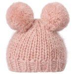 Bonnet Best Friends Knitted Hat 2 Pom Pom Heather - Maileg - Disponible au magasin L'Îlot Lamp' à Granville et sur notre site. Retrouvez la collection MAILEG !