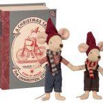 Christmas Mice in Box - Maileg - Disponible au magasin L'Îlot Lamp' à Granville et sur notre site. Retrouvez la collection MAILEG !