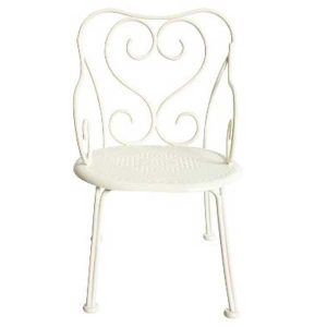 Chaise Romantic Vintage Chair Mini White - Maileg - Disponible au magasin L'Îlot Lamp' à Granville et sur notre site. Retrouvez la collection MAILEG !