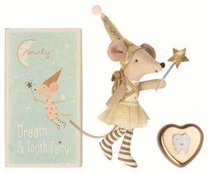 Tooth Fairy Big Sister Mouse - Maileg - Disponible au magasin L'Îlot Lamp' à Granville et sur notre site. Retrouvez la collection MAILEG !